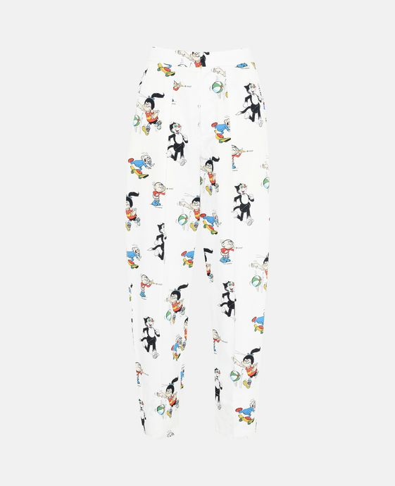 The Dandy Print Organic Cotton Callie Trousers