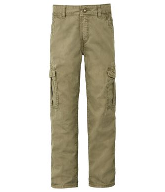 NAPAPIJRI K MOTO KID KID CARGO TROUSERS,MILITARY GREEN