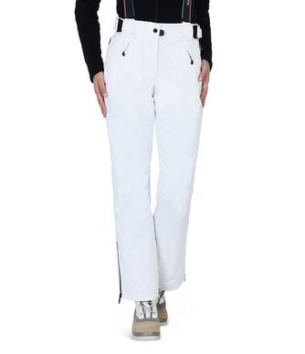 NAPAPIJRI NILLI WOMAN SKI TROUSERS,WHITE