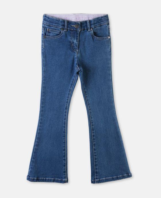 Jet Blue Flare Jeans
