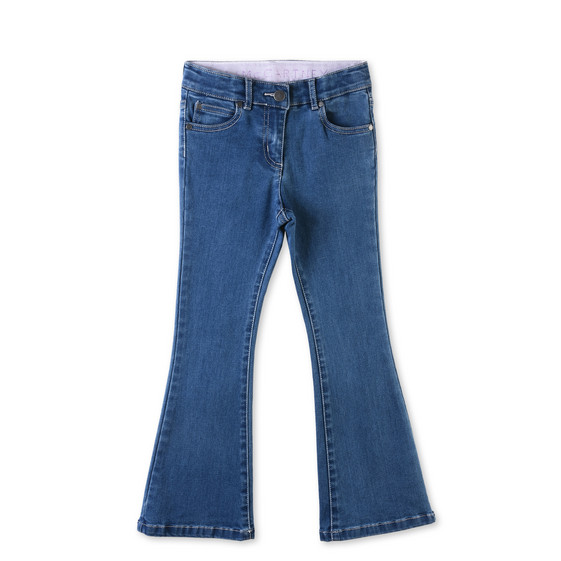 STELLA McCARTNEY KIDS Bottoms D Jet Blue Flare Jeans f