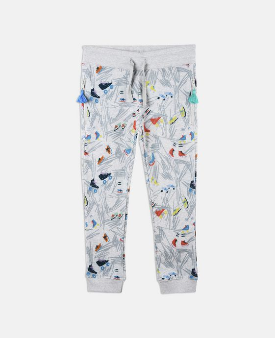 Flint Scribble and Skates Print Pants