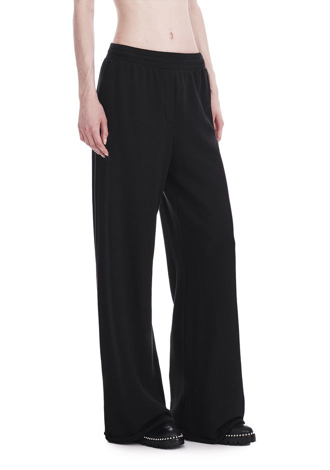 T by ALEXANDER WANG PANTS Women WIDE LEG SWEATPANTS