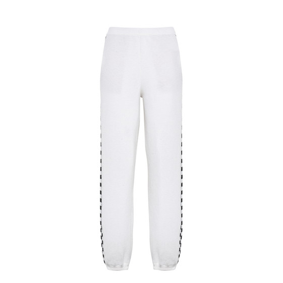 Black and White Check Pants