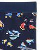 STELLA McCARTNEY KIDS Tula Blue Scribble and Skate Print Leggings Bottoms D r