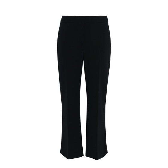 Black Angela Cropped Trousers