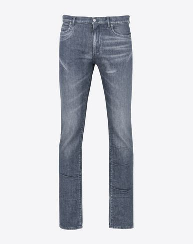 MAISON MARGIELA Light grey slim fit 5-pocket jeans Jeans U f