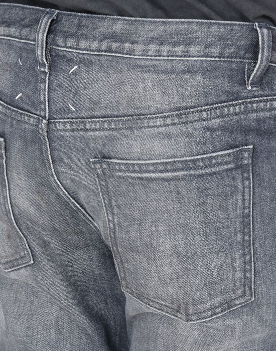 MAISON MARGIELA Distressed slim fit 5-pocket jeans Jeans Man a