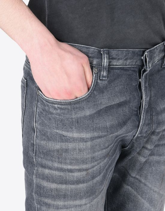 MAISON MARGIELA 10 Distressed slim fit 5-pocket jeans Jeans U b