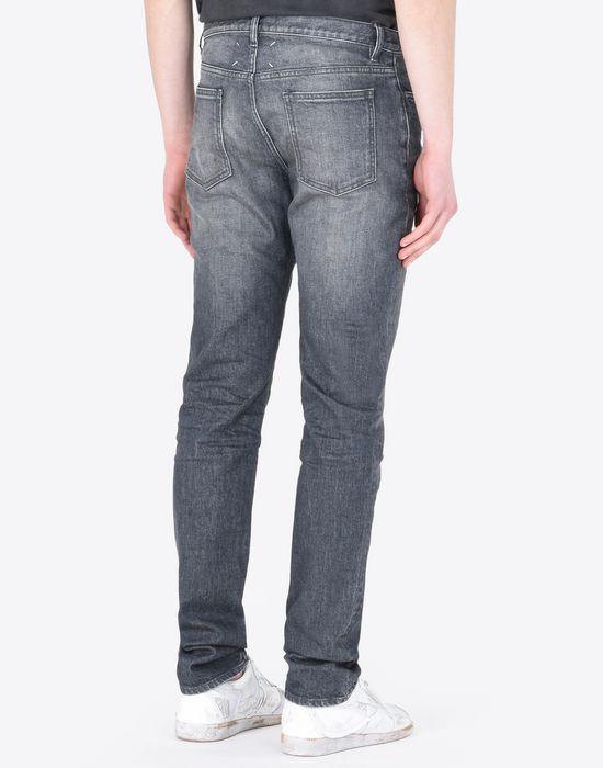 MAISON MARGIELA Distressed slim fit 5-pocket jeans Jeans Man e