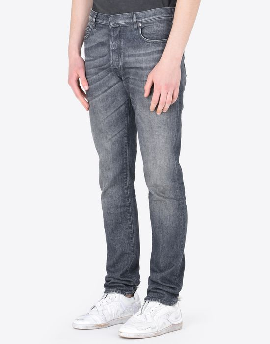 MAISON MARGIELA Distressed slim fit 5-pocket jeans Jeans Man r