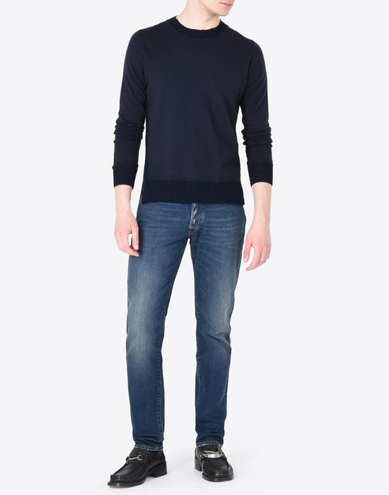 MAISON MARGIELA Slim fit 5-pocket jeans Jeans Man d