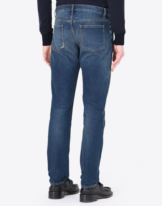 MAISON MARGIELA Slim fit 5-pocket jeans Jeans U e