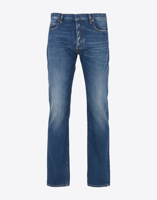 MAISON MARGIELA Slim fit 5-pocket jeans Jeans Man f