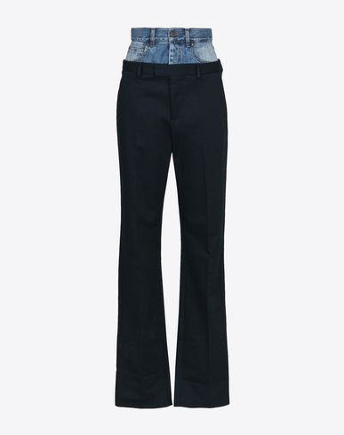 MAISON MARGIELA Casual pants D Fused jean-trousers f
