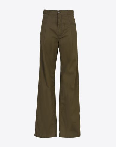 MAISON MARGIELA Casual pants D Oversized gabardine trousers f