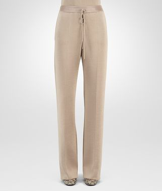 PANT IN MINK WOOL SILK