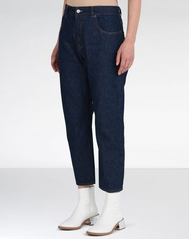 MM6 by MAISON MARGIELA Jeans D Dark wash cropped jeans f
