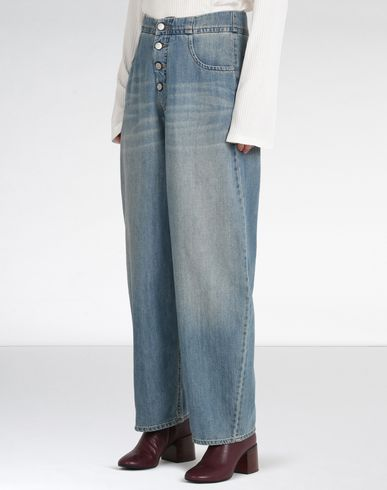 MM6 by MAISON MARGIELA Jeans D Relaxed fit cropped jeans f