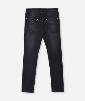 KARL LAGERFELD GRAY WASHED DENIM
