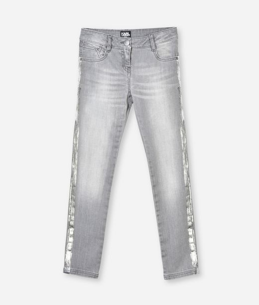 KARL LAGERFELD GREY SLIM-FIT JEANS 12_f