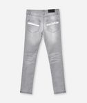 GRAUE DENIMJEANS IN SKINNY-PASSFORM