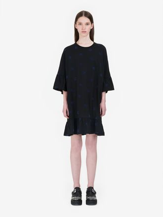 Mini Swallow Ruffle Dress