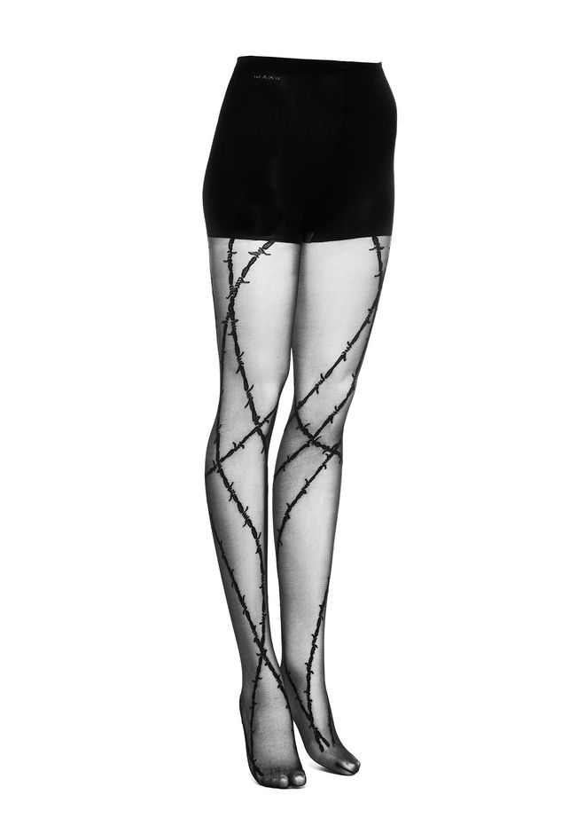 ALEXANDER WANG PANTS Women BARBED WIRE TIGHTS