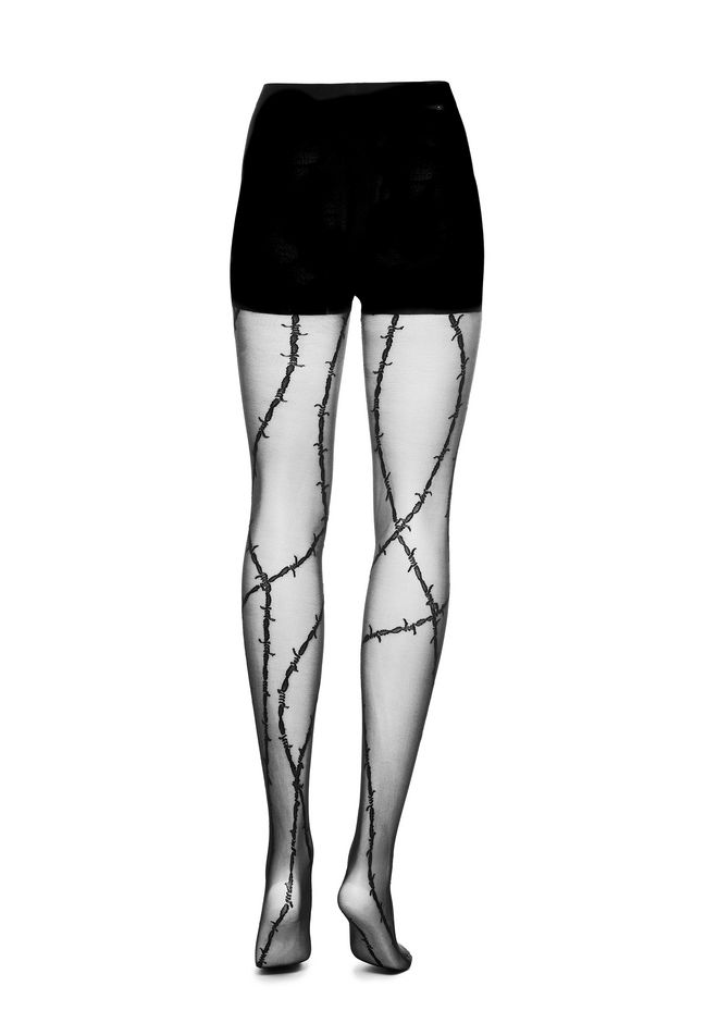 ALEXANDER WANG BARBED WIRE TIGHTS 裤装 Adult 12_n_d