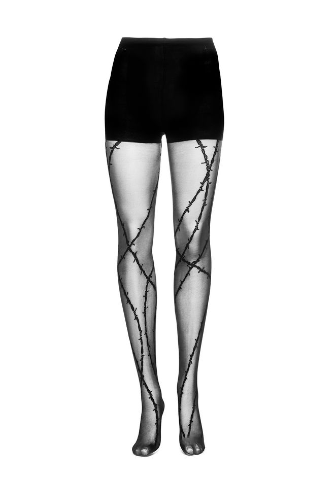 ALEXANDER WANG BARBED WIRE TIGHTS 裤装 Adult 12_n_f