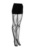 ALEXANDER WANG BARBED WIRE TIGHTS 裤装 Adult 8_n_e