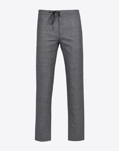 MAISON MARGIELA 14 Casual pants U Wool blend drawstring trousers f