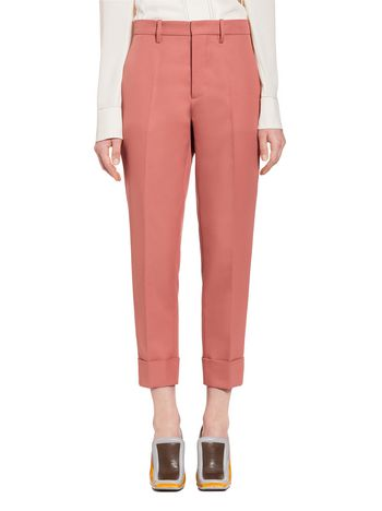 Marni Pants in techno gabardine Woman