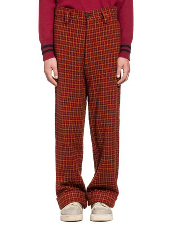 Marni Crinkle wool pants Man
