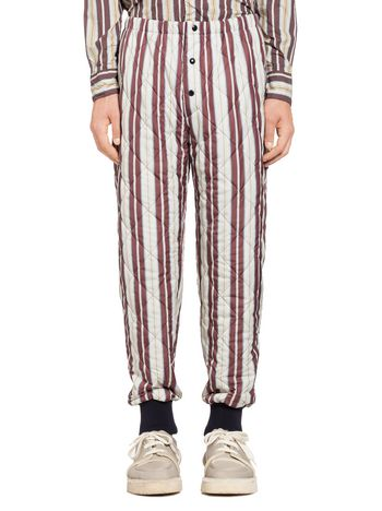 Marni Quilted nylon pants Man