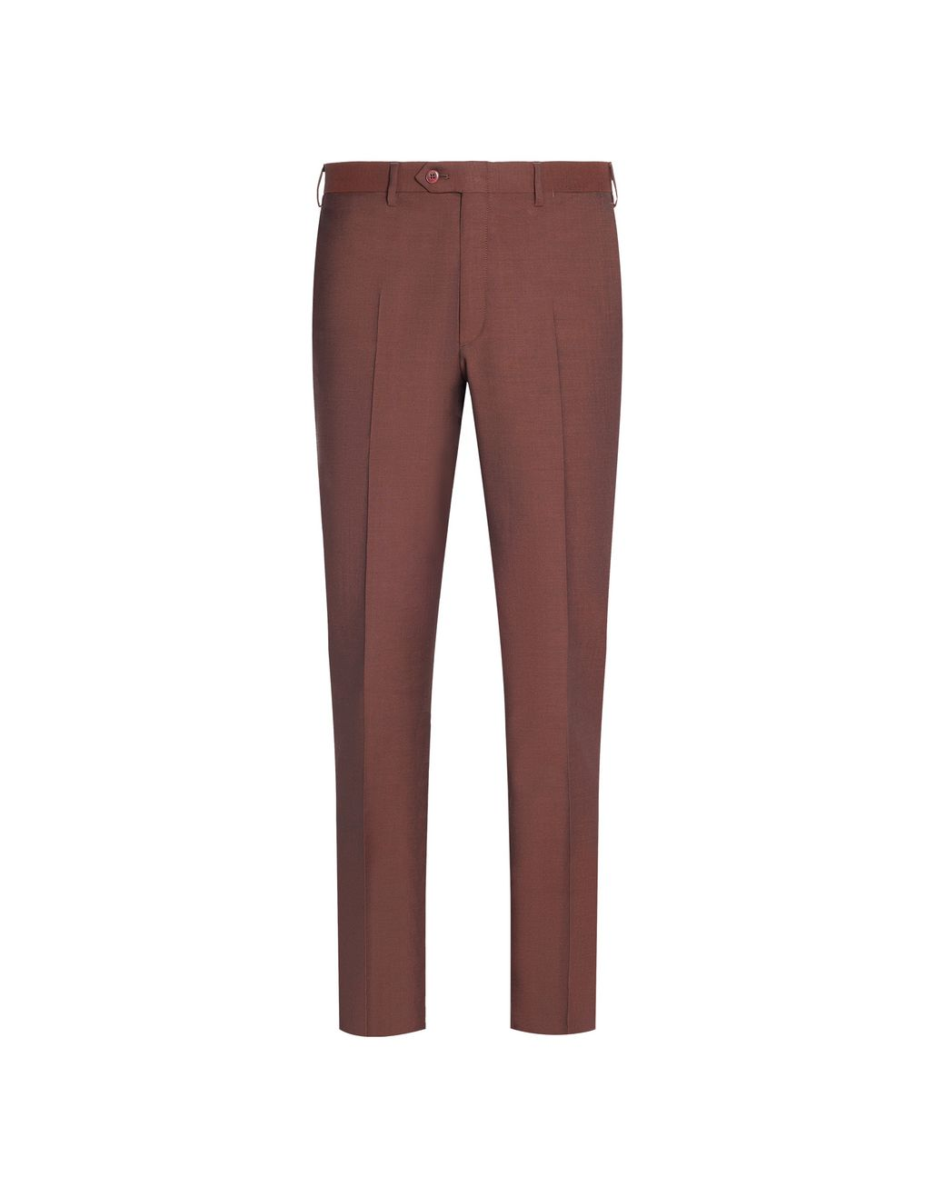 BRIONI Brown Megeve Pants Trousers Man f
