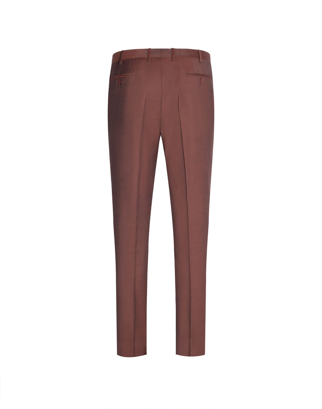BRIONI Brown Megeve Trousers Trousers Man r