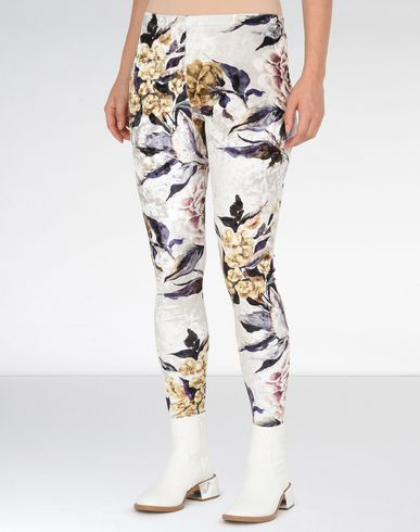 MM6 MAISON MARGIELA Leggings D Printed velvet trousers f