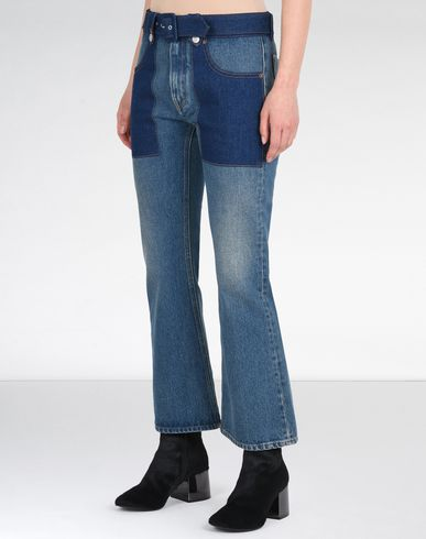MM6 MAISON MARGIELA Jeans D Cropped and flared 5-pocket jeans f