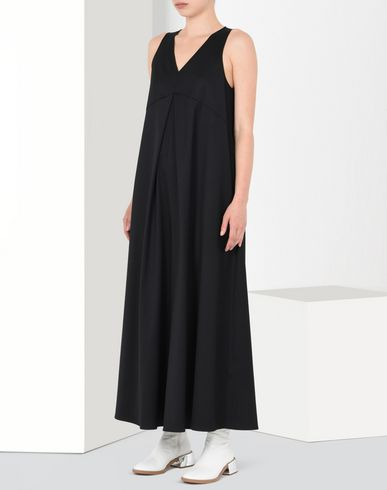 MM6 by MAISON MARGIELA Jumpsuit D Twill jumpsuit with front pleat f