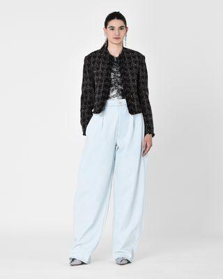 NETERY high waist oversize jeans