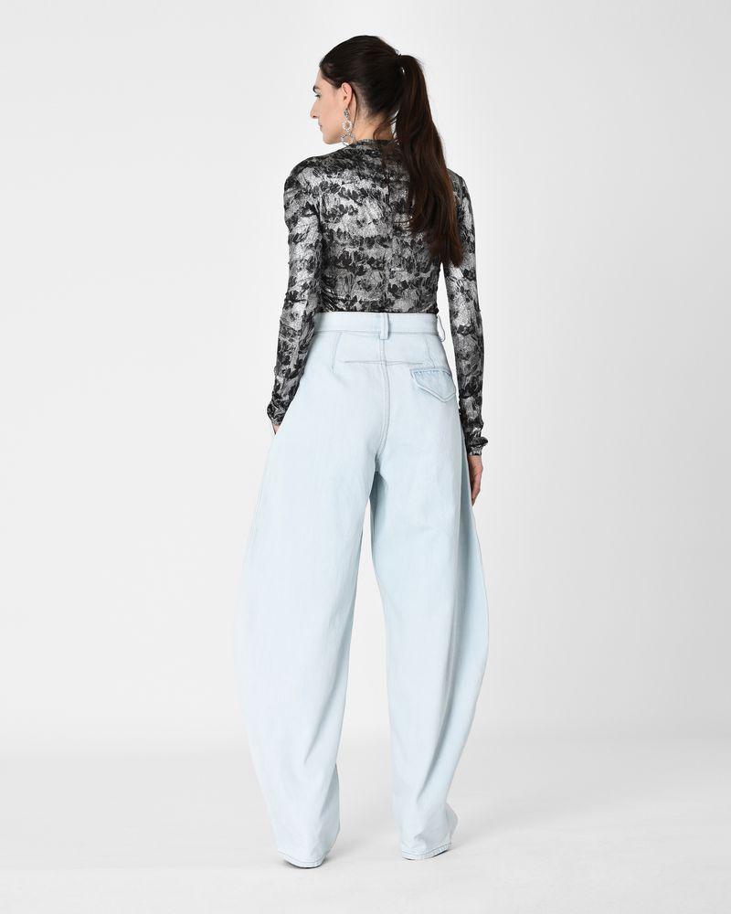 7f26920cc1b ... NETERY high waist oversize jeans ISABEL MARANT