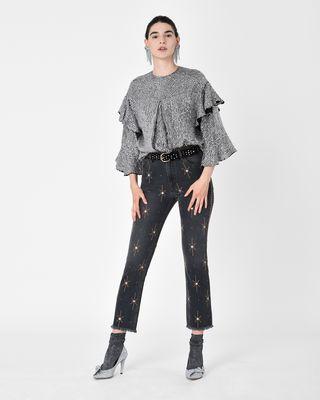 NOLAN jeans with motifs