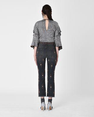 ISABEL MARANT JEAN Woman NOLAN jeans with motifs  r