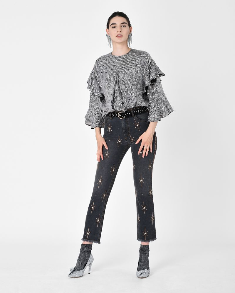 NOLAN jeans with motifs  ISABEL MARANT
