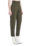 ALEXANDER WANG HIGH WAISTED ARMY PANTS WITH BALLCHAIN 裤装 Adult 8_n_e
