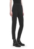 ALEXANDER WANG SLIM FIT TROUSERS WITH BALL CHAIN TRIM 裤装 Adult 8_n_e
