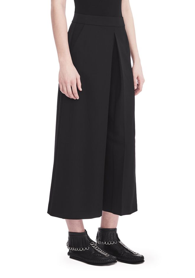 ALEXANDER WANG PANTS Women HIGH WAISTED PANT WITH FOLD FRONT DETAIL