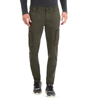 NAPAPIJRI MOTO STRETCH MAN CARGO TROUSERS,DARK GREEN