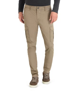 NAPAPIJRI MOTO STRETCH MAN CARGO PANTS,KHAKI